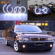 Отличные COB led Ангельские Глазки halo кольца ультра яркие для BMW E66 E65 Facelift 750I 760i 750Li 760Li 2006 2007 2008