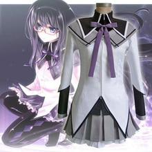 Anime Puella Magi Madoka Magica Akemi Homura School Uniform