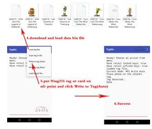 Image 4 - 50 قطعة NTAG215 بطاقة NFC عملة العلامة ل TagMo منتدى Type2 بطاقات شعارات NFC Ntag 215 رقاقة 504 بايت قراءة الكتابة شحن مجاني