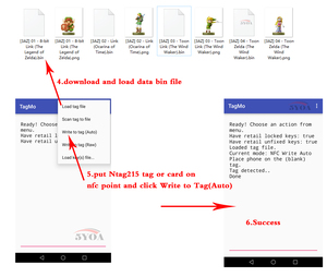 Image 4 - Étiquette de carte NFC NTAG215 pour TagMo Forum Type2, étiquette NFC Ntag 50pcs, puce 215 504 byte en lecture et écriture, livraison gratuite,