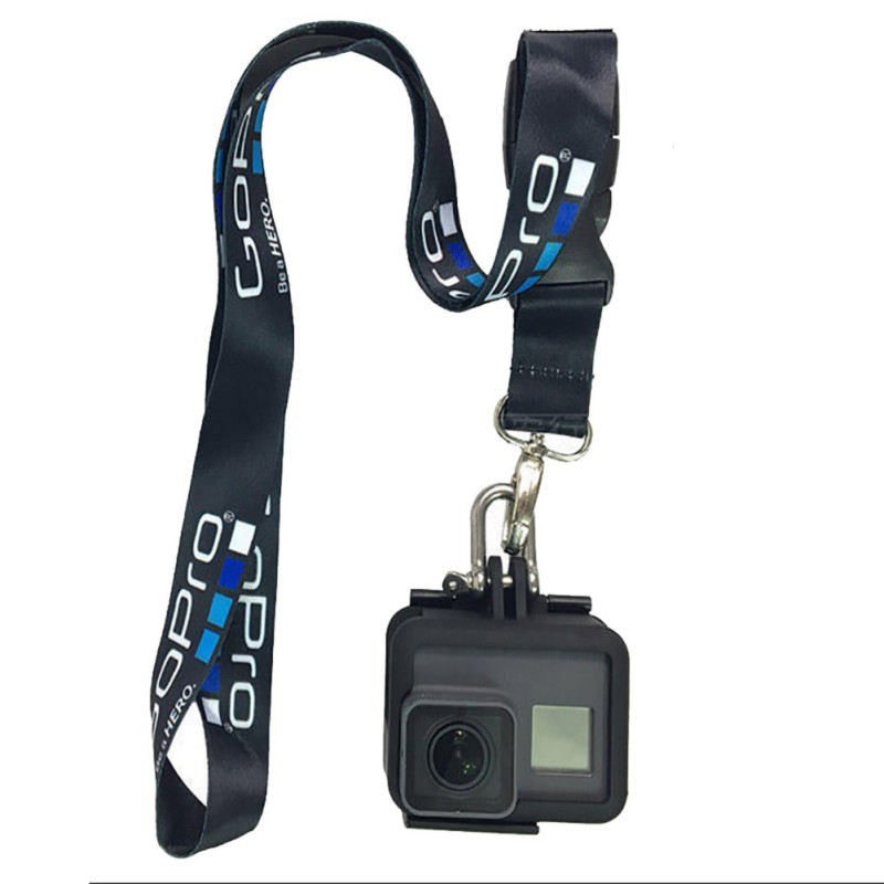 2019 Accessories Neck Strap Lanyard Sling with Quick-released Buckle for GoPro7 6 5 5s 4 3+ 3 2 1 Action sports Camera