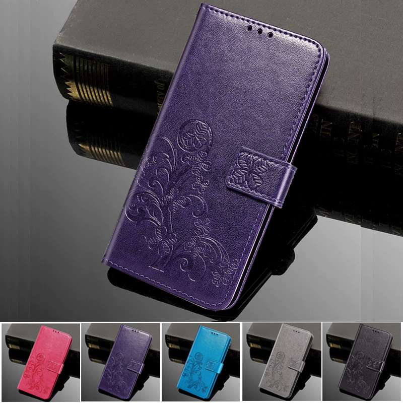 Phone Case for <font><b>LG</b></font> <font><b>K4</b></font> Lte K130E K120E K121 <font><b>K4</b></font> 2017 M160 Case Luxury Flip Relief Leather Wallet Magnetic Phone Stand Book <font><b>Cover</b></font> image