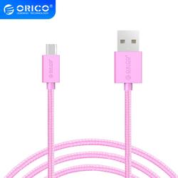 Orico Micro USB Fast Charging Data Cable Support Max 2A for Samsung Huawei Xiaomi LG Tablet Andriod Microusb Mobile Phone Cables