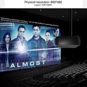 Image 2 - دعم قوي 720P العارض X5 مشغل الوسائط ثلاثية الأبعاد السينما المنزلية تلعب لعبة اختياري أندرويد واي فاي اللاسلكية ربط الهاتف المحمول
