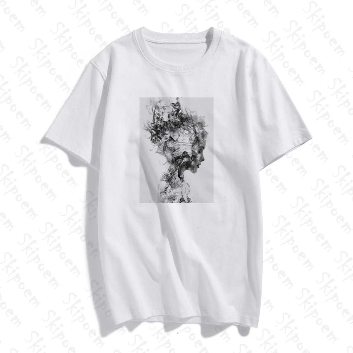 Modernistischen Sexy Dame Feder Schmetterling T-shirt Frauen Koreanische Stil Tumblr Ästhetischen Kurzarm Plus Größe Baumwolle Top Tees Kleidung