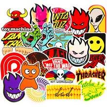100Pcs Painted LOGO Anime Notebook IPad Refrigerator Skateboard Car Wallpaper Sticker
