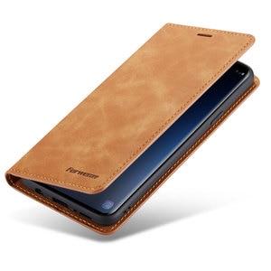 Image 5 - Flip Kapak Cüzdan Lüks Deri Telefon samsung kılıfı Galaxy S9 Artı Kart Standı GalaxyS9 S9Plus SM G960 G965 SM G965F SM G960F