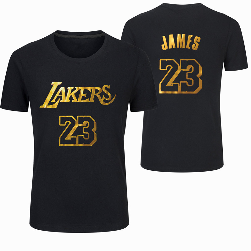 Dragons, Special Bronze Lakers Kobe James Owen Wade Raptors Sports Pure Cotton Short Sleeve