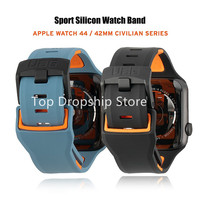Cinturino per Apple Watch 38/40/42/44mm cinturino impermeabile in Silicone morbido per iWatch 6/SE/5/4/3/2/1 cinturino per UAG Loop