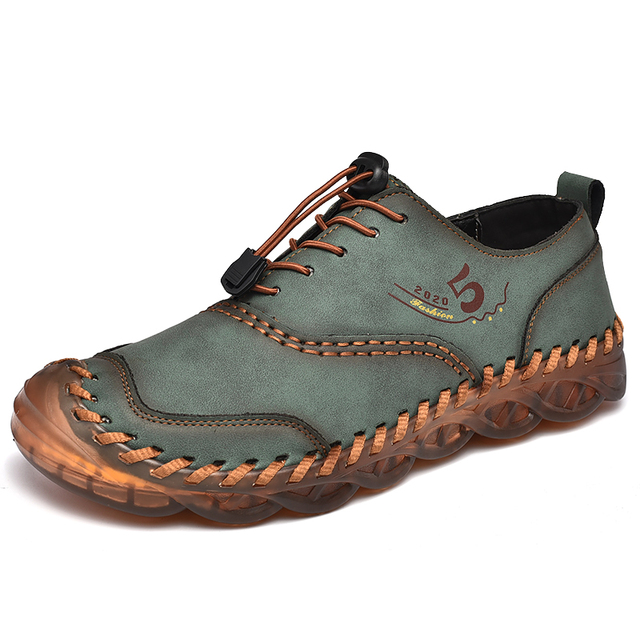 Men's Lace-Up Comfortable Loafers