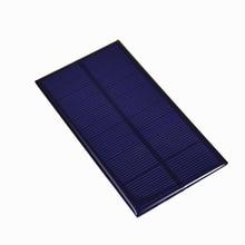 DC 6V 1W Solar Panel Standard Epoxy Polycrystalline Silicon DIY Battery Power Charge 21-23% Mini Solar Cell For 11060 Flashlight