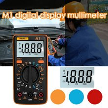 Digital Multimeter M1 A830L Portabel Multimeter Handheld Tester Cerdas Digital Amp Multimetro dengan Memimpin Uji Layar LCD Besar(China)