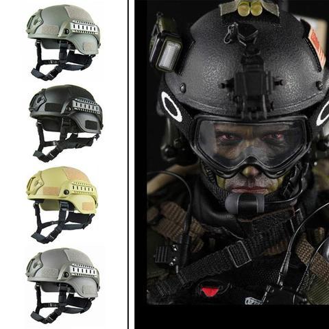 hike memoria esponja capacete de paintball airsoft capacete tatico papel pegajoso duro 4 cores camuflagem