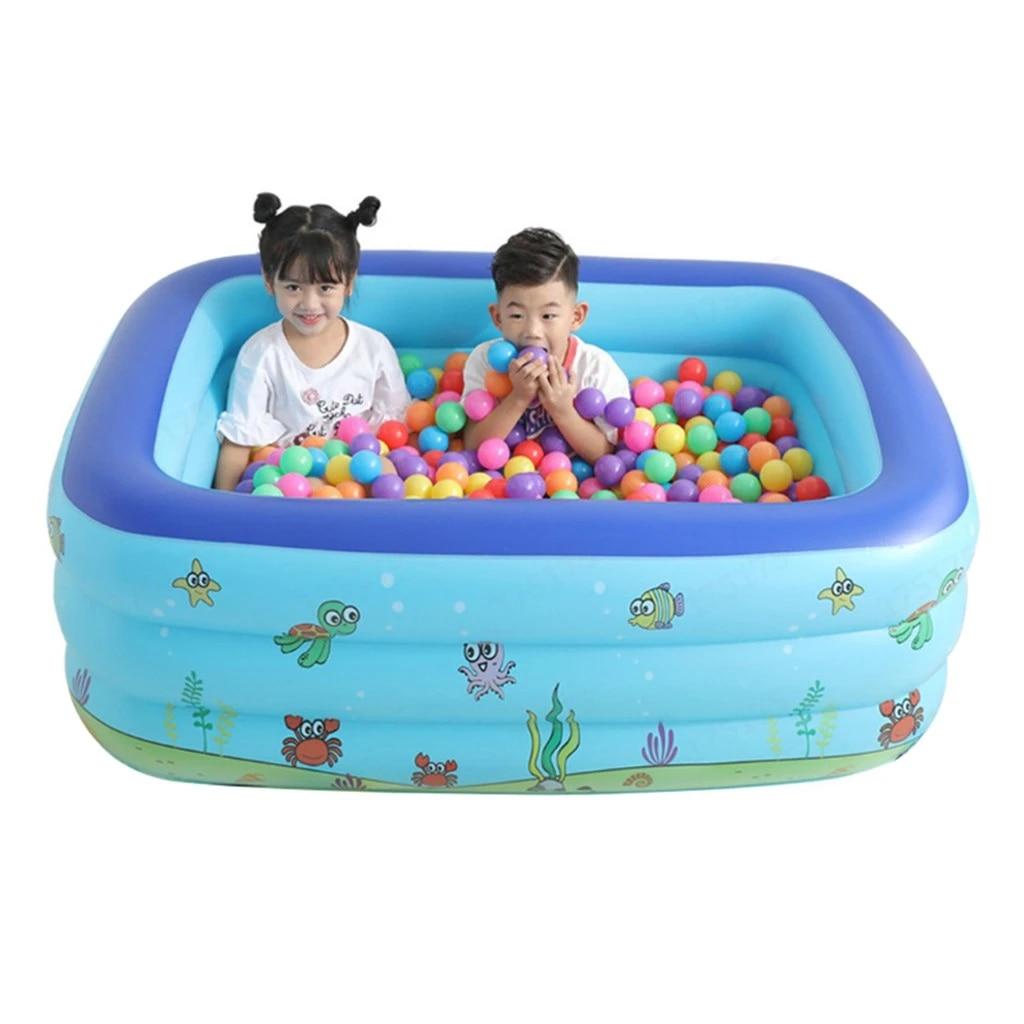 Inflatable Swimming Pool Center Lounge Family Kids Water Play Fun Backyard