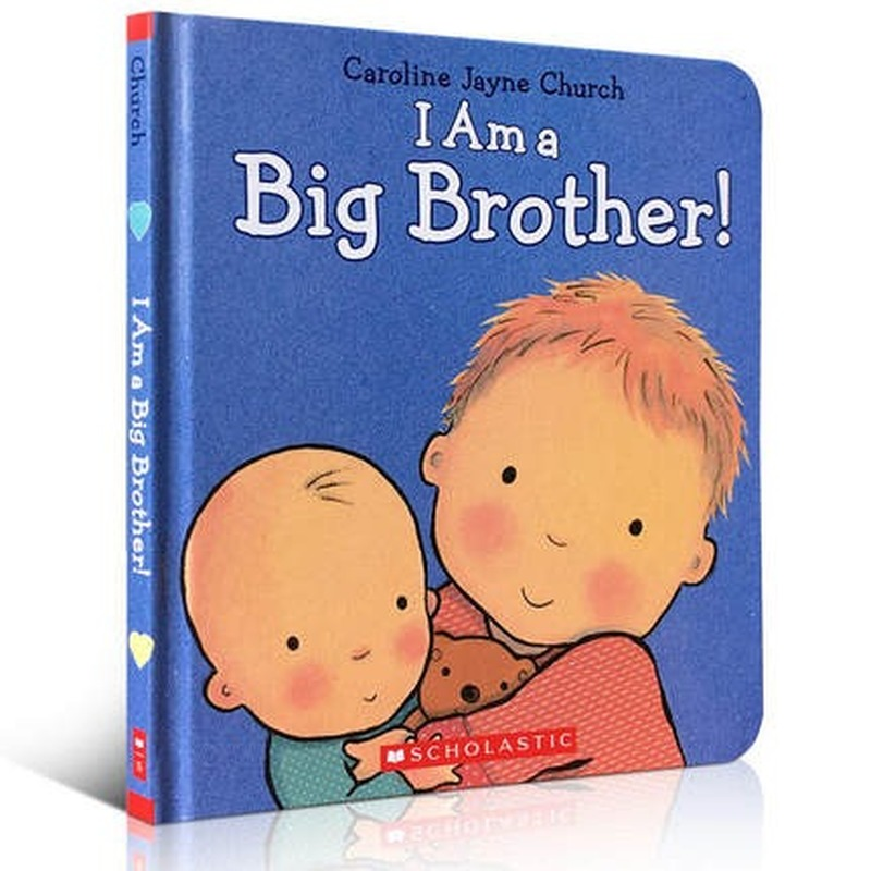 I Am A Big Brother Picture Book Education Hardcover Book Children's Learning English Montessori Classroom Educational Toys