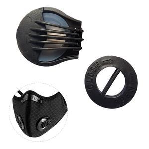1 пара ABS наружная прочная Пылезащитная маска для рта фильтр Замена анти-дымка воздушный дыхательный клапан аксессуары
