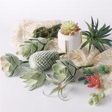 Kunstplanten Suculentas Voor Home Decor Nep Cactus Decoratie Plantas Artificiales Home Decor Groene Succulente Hoge Kwaliteit