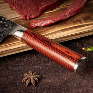 Image 4 - YARENH 3 sztuk zestaw noży kuchennych, japoński stali damasceńskiej Chef zestaw noży, drewno Pakka uchwyt, ostre narzędzia kuchenne z pudełko