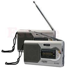 عالية الجودة العالمي ضئيلة AM/FM راديو صغير العالم استقبال مكبرات صوت ستيريو MP3 الموسيقى لاعب