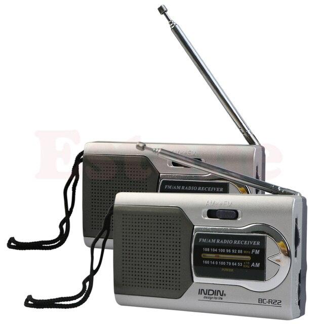 Chất Lượng cao Đa Năng Slim AM/FM Đài Radio Mini Thế Giới Thu Loa Âm Thanh Nổi MP3 Nghe Nhạc