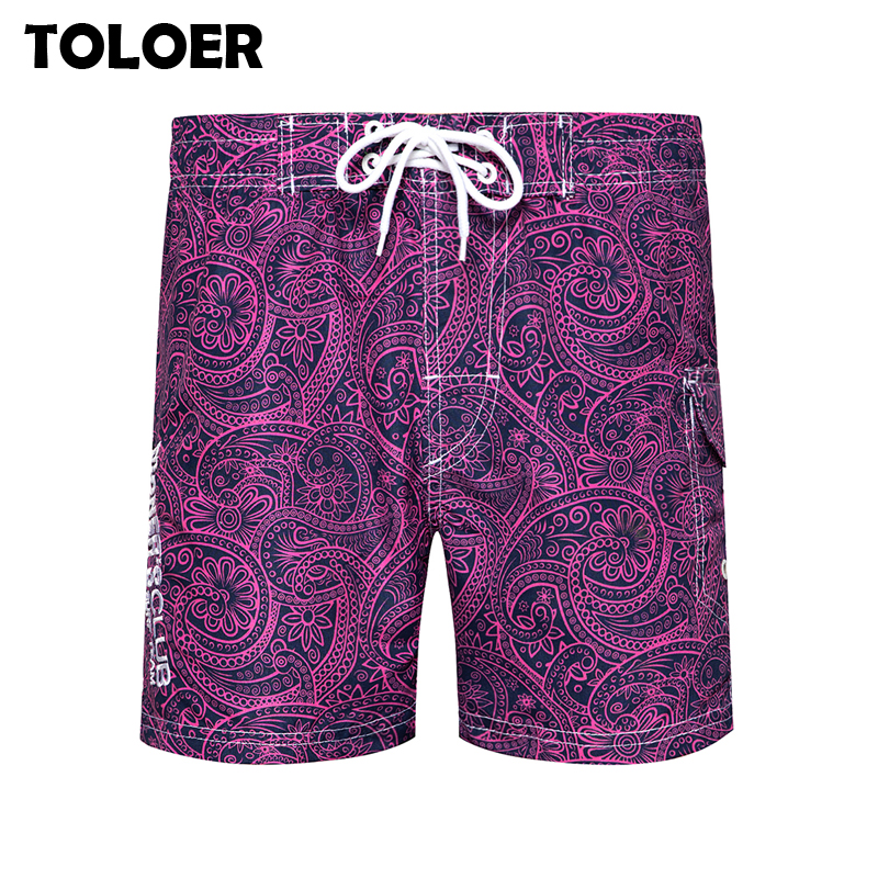 Men''s Board Shorts New 2020 Brand Swim Shorts Flower Printed Quick Dry Surfing Beach Shorts Men Swimsuit Maldives Beach Pants