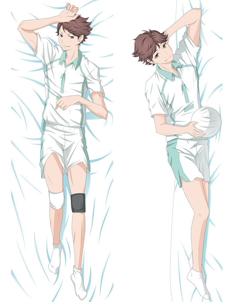 Anime Haikyu pillow Cover hinata shoyo Dakimakura case Cool Boy 3D Double sided Bedding Hugging Body