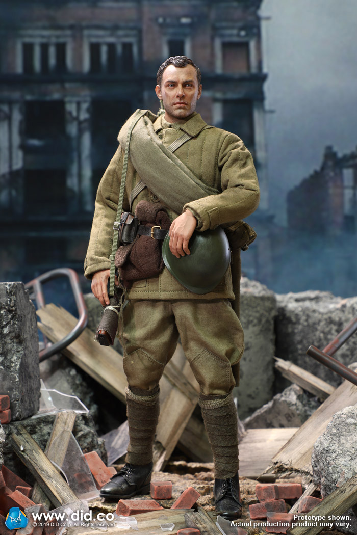 Vasily 10th Ann. DID Action Figures A Dirty 1//6 Scale - Brown Belt