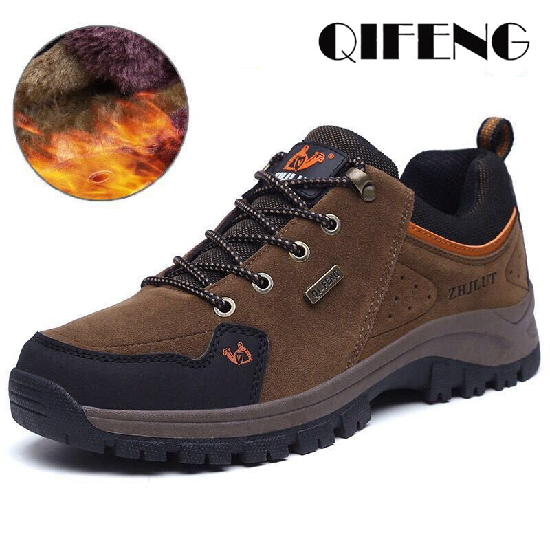 Men Women Outdoor Sports Hiking Boots, Wear Resisting Casual Shoes, Couple Walking Sneakers, Popular Fashion Trekking Footwear