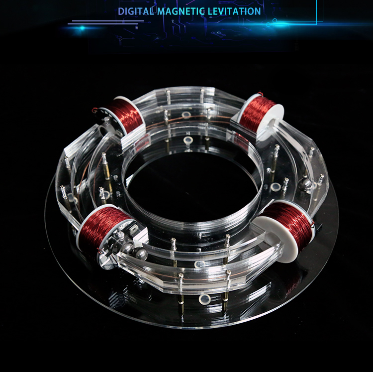 Annular accelerator Ring accelerator cyclotron hi-tech toy physics model diy kit kid gift toy Cyclotron