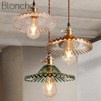 Vintage Hanglampen Glas Hanglamp Loft Industriële Hanglamp voor Woonkamer Eetkamer Slaapkamer Verlichtingsarmaturen Home Decor-in Hanglampen van Licht & verlichting op