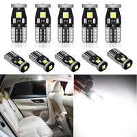Bombilla LED T10 de 10 W y 5W para Citroën, C5, X7, C3, C4, Picasso, Xsara Berlingo, Saxo, C2, C1, accesorios, luz Interior de coche, luz de estacionamiento