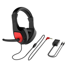 Professional 3 5mm Plug Wired Over-ear Headset Gaming Headphone Earphone with Mic for PC Cellphone N-switch cheap SOONHUA Dynamic None for Video Game Line Type Over-ear Headphone Sealed With Microphone -38±3dB 6x2 5mm 20mW 0 8V 30mW 1 0V
