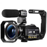 Videocámara Digital 4K Ordro AC3 60FPS 30X Zoom visión nocturna videocámara Filmadora Vlog Cámara