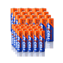 20PCS 1.5V AAA LR03 AM4 E92 140MIN and 20PCS LR6 AA E91 AM3 UM3 MN1500 360MIN alkaline dry battery for Electronic-Thermometer