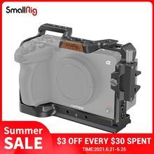 سويتلاعب كامل هيكل قفصي الشكل للكاميرا عدة مع مشبك كابلات لسوني FX3 سينما كاميرا لتقوم بها بنفسك أطقم 3277