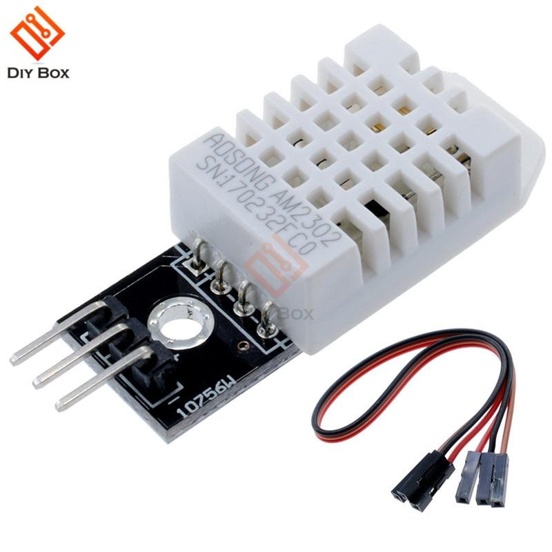 Digital Temperature Humidity DHT22 AM2302 Sensor Module+WIRE replace SHT11 SHT15