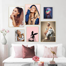 Ariana Grande Sexy Star Singer Beauty Canvas Poster Prints Wall Art Canvas Painting Pictures For Living Room Home Decor