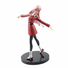 цена на 16-21cm Anime DARLING in the FRANXX Figure Toy Zero Two 02 PVC Action Figure Collection Model Toys Gift With Beautifully Box