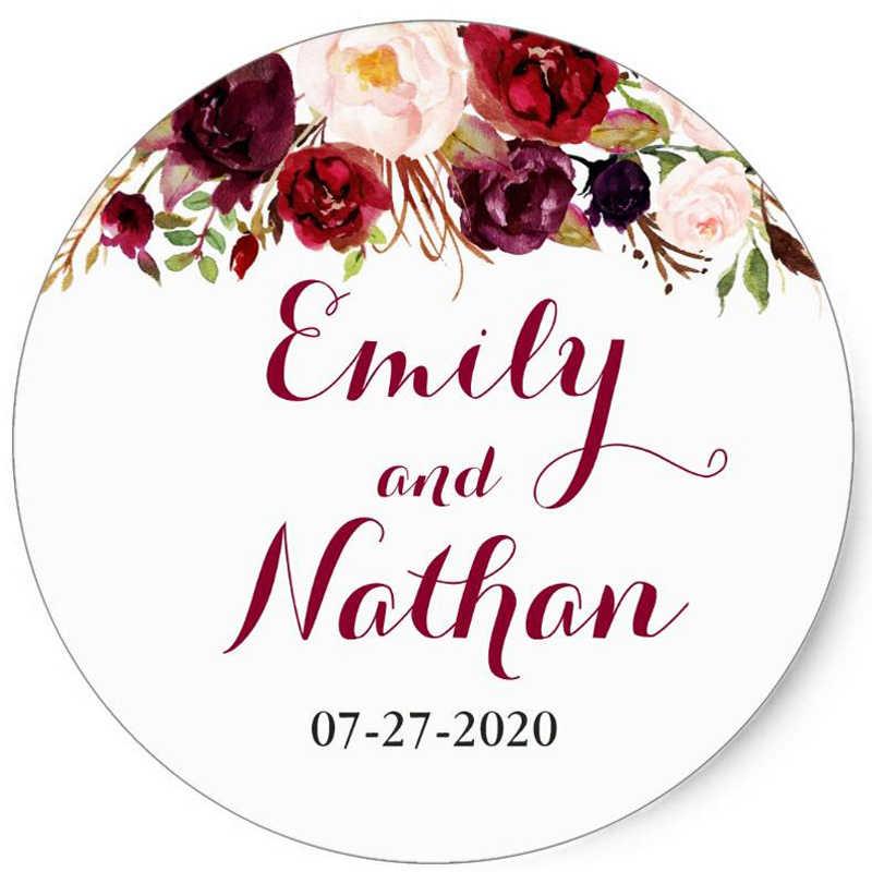 100 adet özel kişiselleştirilmiş, düğün çıkartmaları, bebek duş şeker iyilik hediye kutuları etiketleri, doğum günü, Logo, fotoğraf dekorasyon