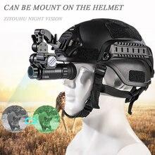 Hd 850 нм невидимые ИК очки ночного видения для охоты 1x оптический