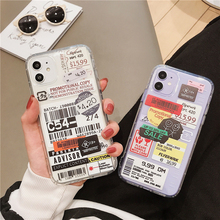 New fashion label Phone Case For iPhone