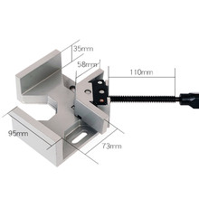 Home Improvement tools Corner Clamp 90° Right Angle Clamp Woodworking Vice Wood Metal Welding Fixture woodworking clamp 2019 cheap Manual Angle Vise