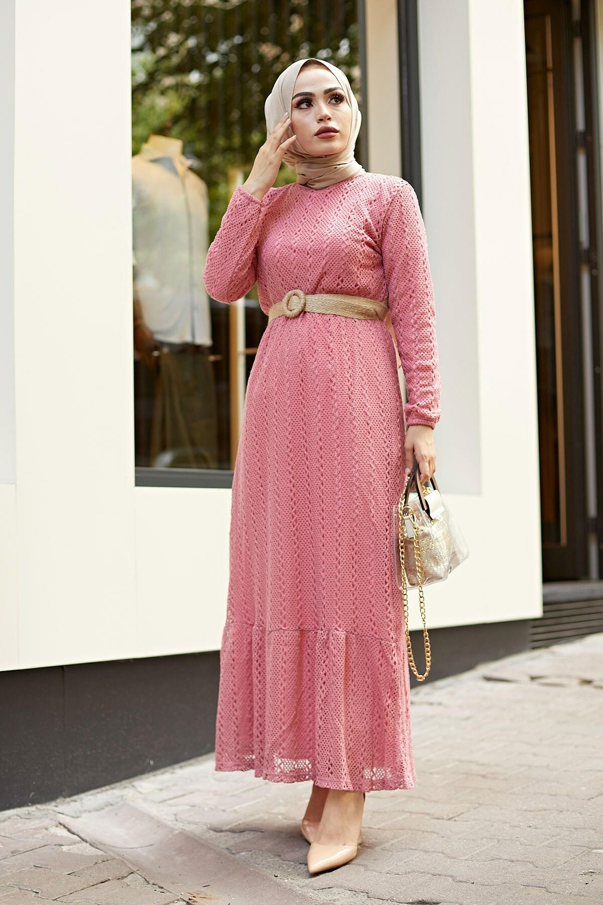 Women Long Dress Turkish Made Fast Shipping Arabic Abaya Hijab Clothes Fashion Style Autumn Elegant Design Lace for Style Women