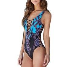 Сексуальный цельный купальник для женщин с цветочным принтом, цельный купальный костюм для пляжа, сёрфинга, купальный костюм для женщин