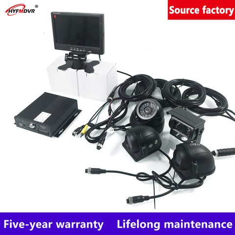 hyfmdvr 4ch ahd 960p dvr movel monitor local terno carro pal ntsc