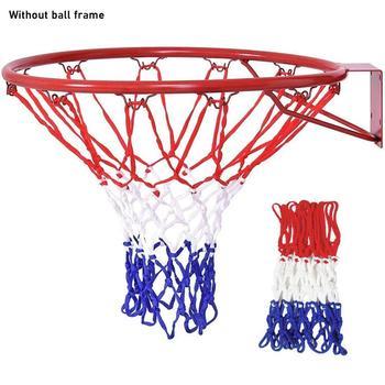 6mm obręcz do koszykówki siatka do koszykówki wytrzymała siatka do koszykówki Heavy Duty siatka nylonowa obręcz do bramki siatka pasuje do standardowych felg do koszykówki tanie i dobre opinie Inne BJZ4880
