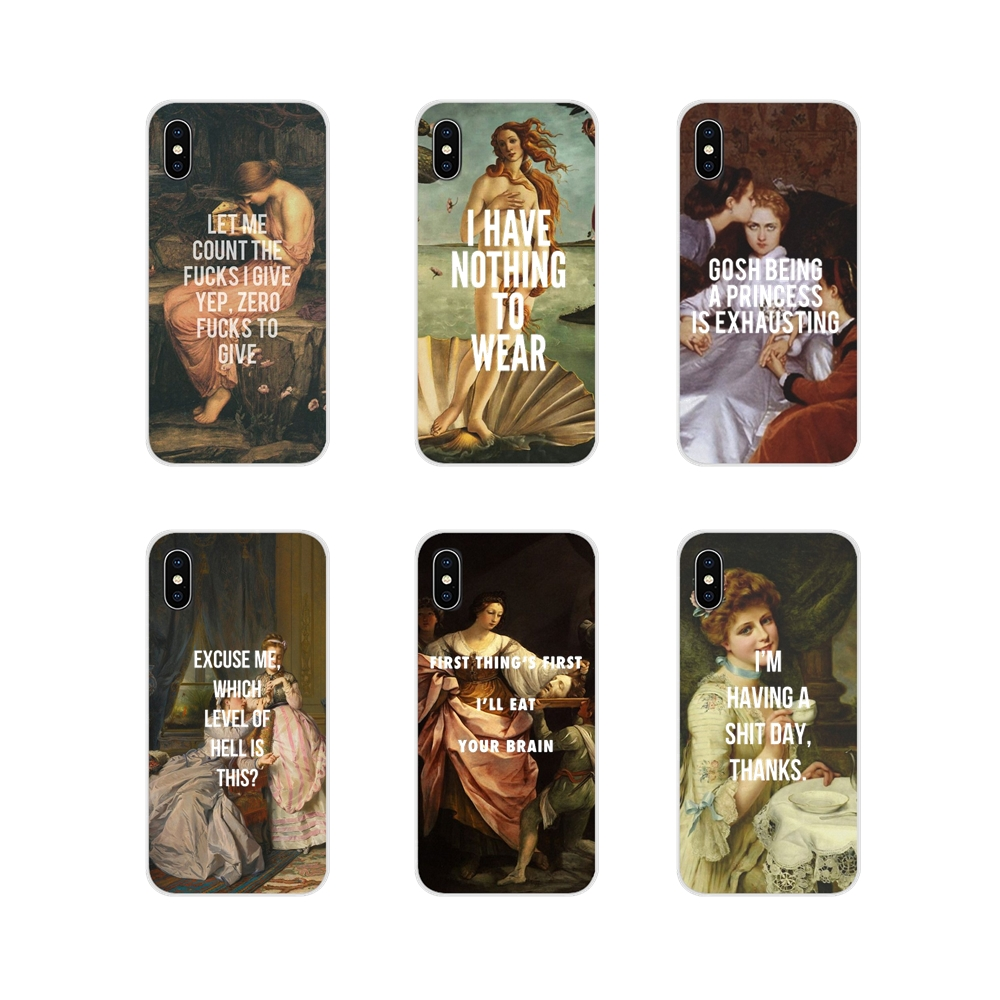 Customize Case For Huawei G7 G8 P7 P8 P9 P10 P20 P30 Lite Mini Pro P Smart Plus 2017 2018 2019 Classic Art Memes Quotes Painting image