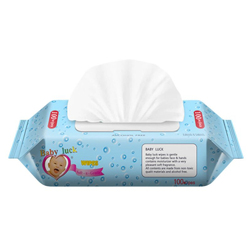 Portable Wet Wipes For Baby Wipes Disinfectant Cleaner 100PCS/BAG