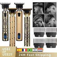 2021 USB Haar Trimmer Elektrische Haar Clipper Cordless Rasierer Bart trimmer für männer Barber Schneiden Maschine T-outliner Rasierer HIENA