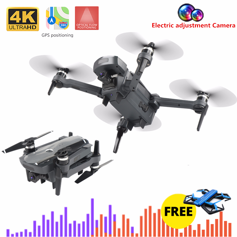 K20 Mini <font><b>Drone</b></font> 4K Quadcopter with 5G Wifi <font><b>FPV</b></font> Camera Foldable Quadrocopter 1800M 25mins Flight Time VS F11 SG906 E520S H117S image